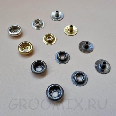Кнопка кольцевая SK35 YKK размер 15 мм