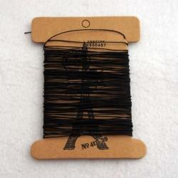 Нитки Lin Cable черные 10 метров