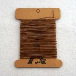 Нитки Lin Cable коричневые 10 метров