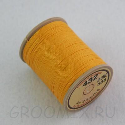 Нитки льняные вощенные Lin Cable желтый-508