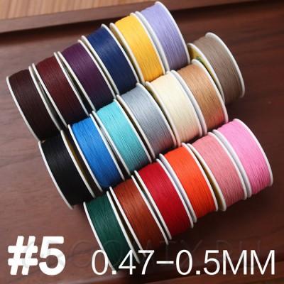 Нитки Zj  #5 толщина 0,47-0,50 мм