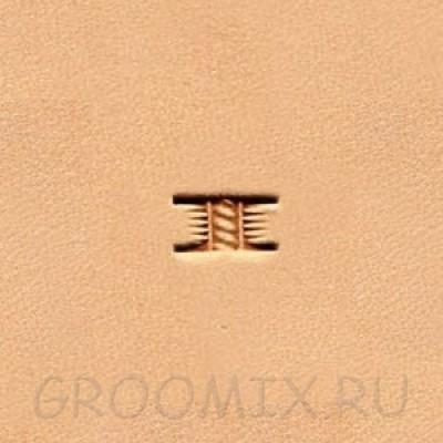 Штамп basketweave X502-2 Ivan LeatherCraft
