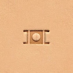 Штамп basketweave X595 Ivan LeatherCraft