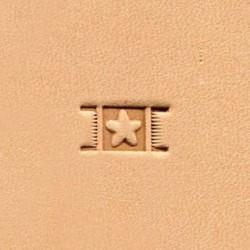 Штамп basketweave X596 Ivan LeatherCraft