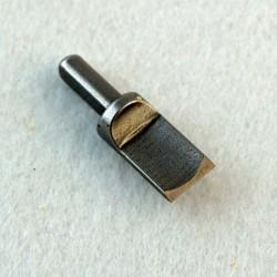 Резец для поворотного ножа вогнутый 9,5 мм