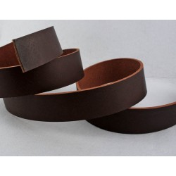 Заготовка для ремня 38 мм коричневая