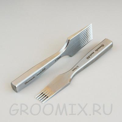 Комплект пробойников Groomix mod.05 шаг 3.0 мм