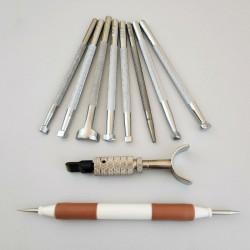 Набор для тиснения (Штампы+поворотный нож)