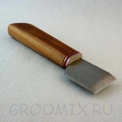 Шорный нож из хромистой стали