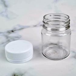 Пластиковая бутылка круглая 50 мл